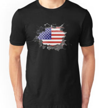 'The Great Wall' Classic T-Shirt by Dwiner