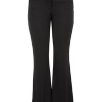 Smart Wide Leg Pant With Slimming Technology - Black