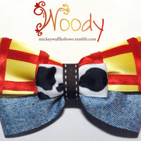 Woody Hair Bow by MickeyWaffles on Etsy