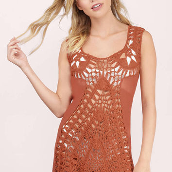 Keep It Close Crochet Cover Up