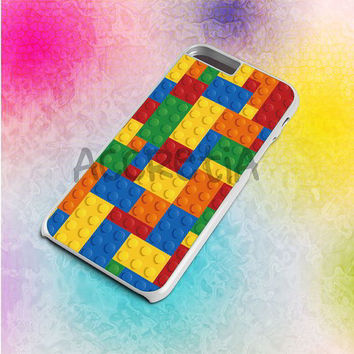 Lego Inspired Brick Pattern Custom - iPod case 4/5,iPhone case 4 to 6+,Samsung Galaxy case S3,S4,S5 & Note 2,3