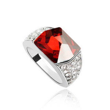 New Arrival Stylish Jewelry Gift Shiny Korean Strong Character Crystal Accessory Ring [4989614660]
