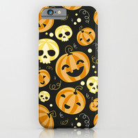 Halloween pumpkin pattern orange iphone case, smartphone, Xiaomi case