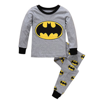 Kids pajama clothing sets children baby boysgirls familysleepwear home nightwear pajamas  toddler  pyjamas 2-7T