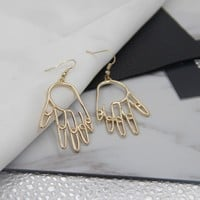 DETAILED HAND EARRINGS