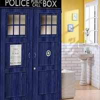doctor who shower curtain