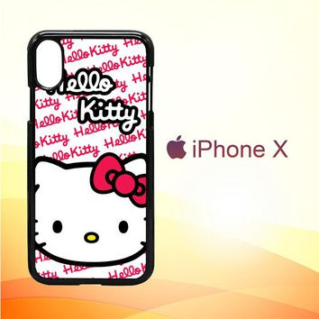 Hello Kitty W3103 iPhone X Case
