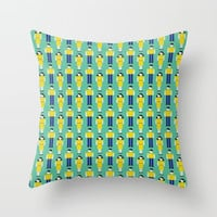 Digital Love Throw Pillow by lalainelim