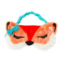 Plush Fox Sleep Mask