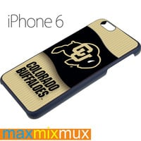 Colorado Buffaloes Basketball iPhone 6/6+ Series Hard Case