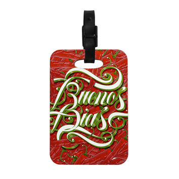 "Roberlan ""Buenos Dias"" Good Day Decorative Luggage Tag"