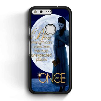 Once Upon A Time Belle Full Moon Google Pixel Case