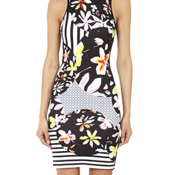 Clover Canyon Floral Discs Dress