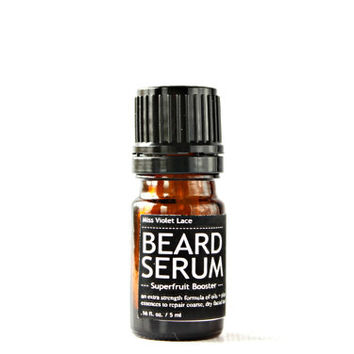 sample BEARD SERUM. vegan beard oil. 100% natural trial size beard oil.