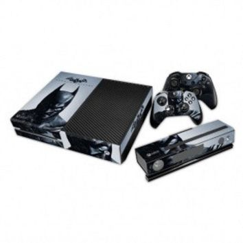 New Arrival Batman: Arkham City Decal Skin Sticker Cover For Xbox One Console And Controller = 1927963460