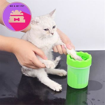 Pet Finger Foot Washer Cat Accessories Claw Dog Grooming Supplies Pets Products Clean Paws Muddy Feet Claws Care Massage Tool
