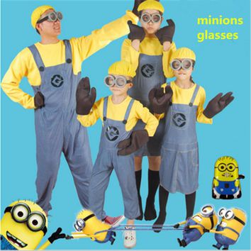 Cute Small Yellow People Glasses Kids Toys Minions Eye Mask For Children Favors Minions Party Supplies Decorations Glasses