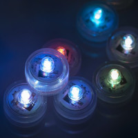 Waterproof LED Submersible Tealight Candles with Remote Control