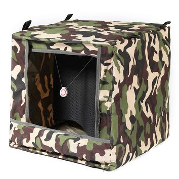 30x30cm Foldable Target Box Recycle Ammo Hunting for Catapult Practice Target
