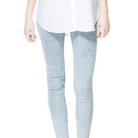 BASIC DENIM JEGGINGS - Collection - TRF - New collection | ZARA United States
