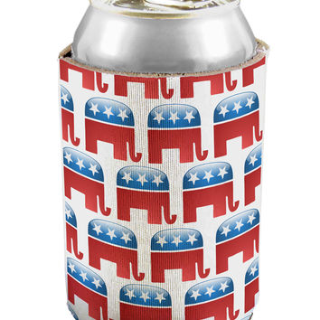Republican Symbol All Over Can / Bottle Insulator Coolers All Over Print