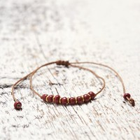 Me To We Merlot Bangili Bracelet - Womens Jewelry - Merlot - One