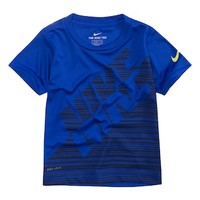 Toddler Boy Nike Dri-FIT Linear Colorblock Tee | null