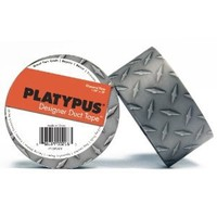 Amazon.com: Platypus Designer Duct Tape: 2 in. x 32 ft. (Diamond Plate): Home & Kitchen
