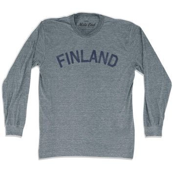 Finland City Vintage Long Sleeve T-shirt