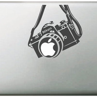 Camera for Nikon Sticker for Macbook Air 11 12 13 Pro 13 15 17 Retina Stickers Laptop Car Versatile Decal Skins Vinyl Pegatinas