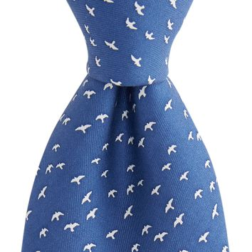 Vineyard Vines, Flock of Gulls Tie, Vineyard Navy