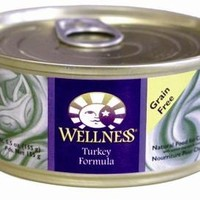 Wellness Complete Health Turkey Recipe Canned Cat Food 24/ 5.5 oz Cans