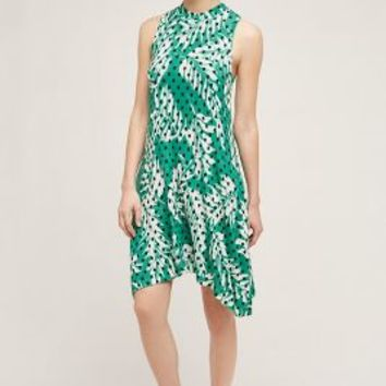 Maeve Caye Dress in Green Motif Size: