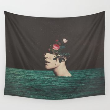 4 AM Wall Tapestry by Frank Moth