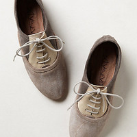 Lacy Colorblock Oxfords