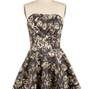 The Flower Ghosts  Dress | Indie Retro Vintage Inspired Dresses | Poetrie.com | $70.99