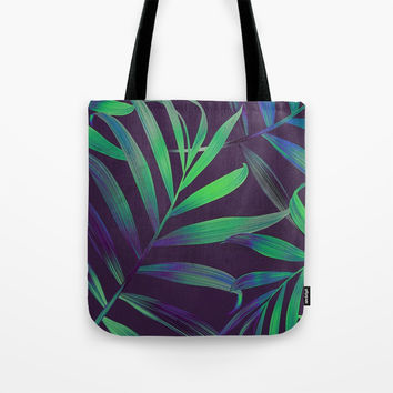Tropical Leaves Vibes Tote Bag by Criss