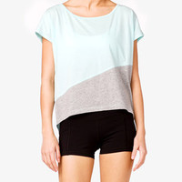 High-Low Workout Tee