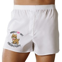 Rescue A Puppy Boxer Shorts