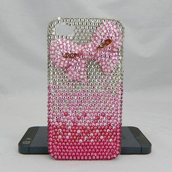 BOW  case colorful iPhone case,bling iphone 6 case,Crystal iphone 6 Plus,Rhinestone iphone 5/5S/5c,iphone 4 case samsung galaxy S3/S4/S5
