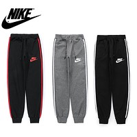 """NIKE"" Popular Women Men Leisure Sport Stretch Pants Trousers Sweatpants"