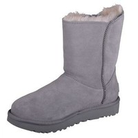 UGG W Marice GREY BOAT Winter Boots Shoes Warm 1019633 w/ GYS