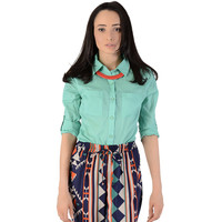 Two Pocket Blouse - Clothing