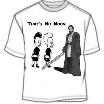 Star Wars and Beavis and Butthead: That's No Moon