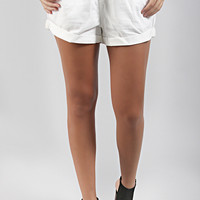 Mink Pink: mellow shorts - white