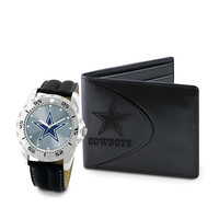Dallas Cowboys NFL Men's Watch & Wallet Set