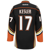 Ryan Kesler Anaheim Ducks Reebok Premier Replica Home NHL Hockey Jersey