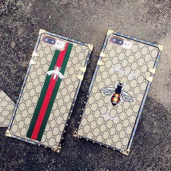 Gucci Fashion Personality Bee iPhone Phone Cover Case For iphone 6 6s 6plus 6s-plus 7