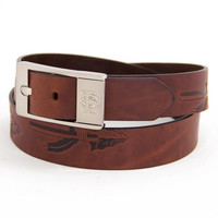 Florida State Seminoles NCAA Brandish Leather Belt Size 40