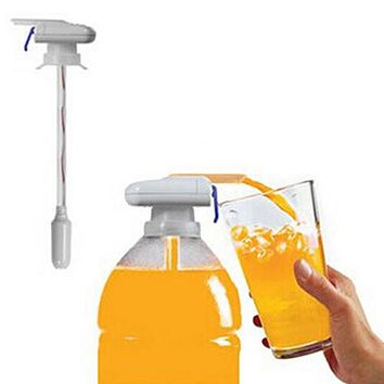 Automatic Water Drink Pump Spill Proof Magic Tap Beverage Dispenser Kitchen Tools